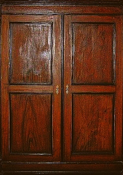 Large oak wardrobe